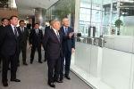 Первый президент Казахстана посетил Международный финансовый центр Астана