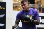 Боец UFC Дастин Пуарье во время тренировки накануне боя с Хабибом Нурмухамедовым в ОАЭ