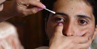 Армянка Сатеник Казарян плачет бриллиантовыми слезами
