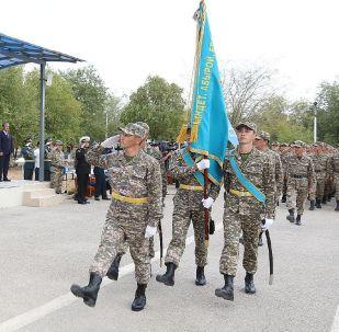 Военнослужащие почтили память погибших