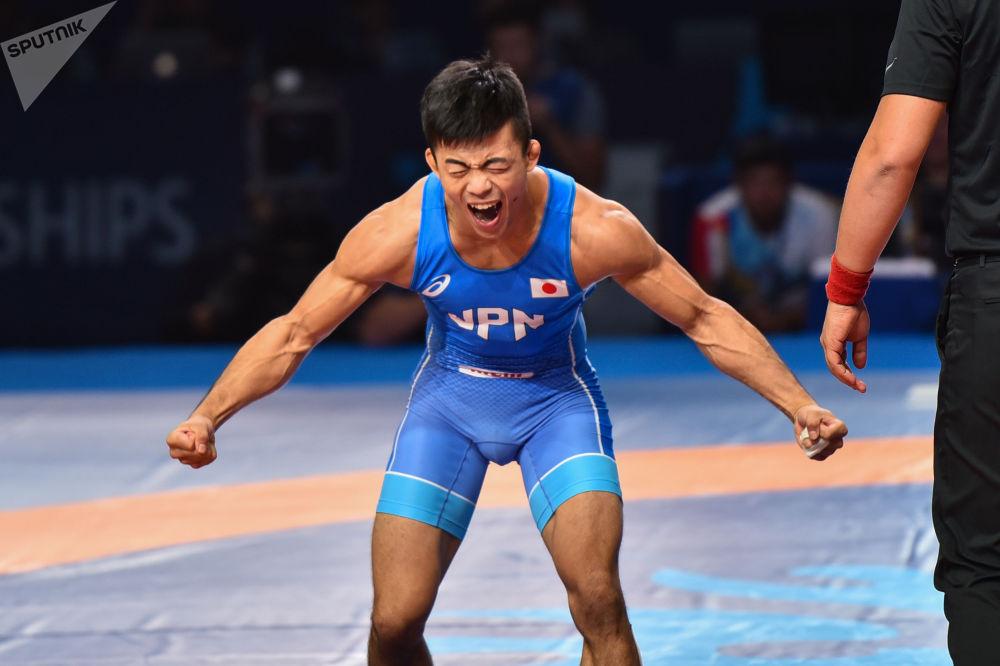 ЧМ по борьбе - GR - 60kg Фумита /Япония