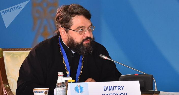 Шіркеу қызметкері Дмитрий Сафонов