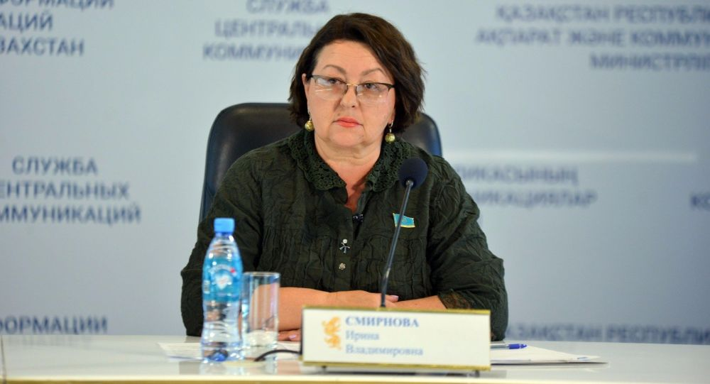 Депутат мажилиса парламента РК Ирина Смирнова