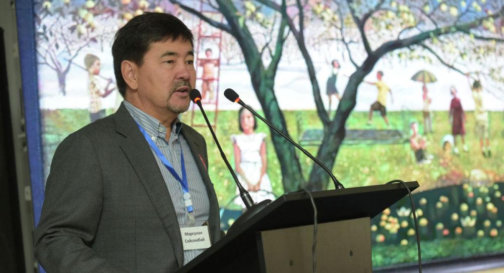Бизнесмен и общественный деятель Маргулан Сейсембаев