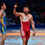 ЧМ по борьбе - FS (freestyle - вольная борьба) - Нурислам Санаев (Кз) - Сулейман Атлы (Турция)