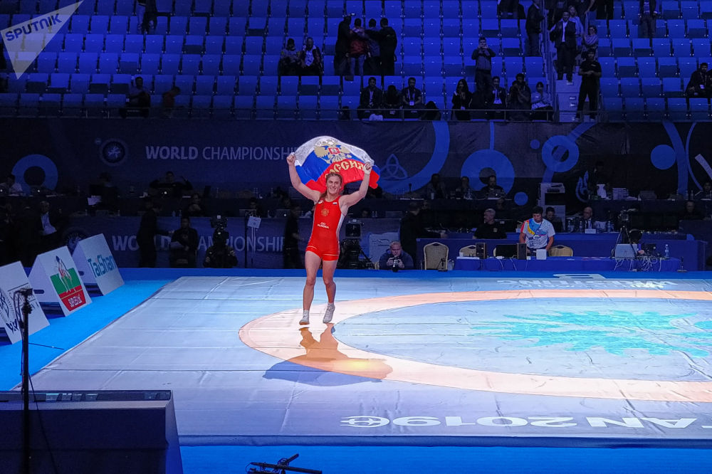 ЧМ по борьбе - WW - 72 кг - за золото ФИНАЛ Наталья Воробьева (Россия) - Алина Бережна (Украина)
