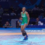 ЧМ по борьбе - WW - Одунайо Адекуоройе (Нигерия) - Анастасия Никита (Молдова)