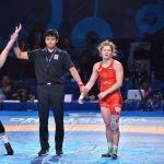ЧМ по борьбе - WW - 59 кг за золото Любовь Овчарова (Россия) - Линда Морайс (Канада)