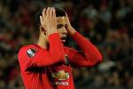 Мейсон Гринвуд из Манчестер Юнайтед реагирует на упущенный шанс