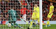Мейсон Гринвуд из «Манчестер Юнайтед» забивает свой первый гол
