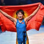ЧМ по борьбе. Айсулу Тыныбекова (Кыргызстан)