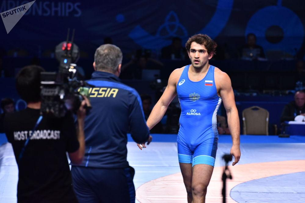 ЧМ по борьбе - финал -  Жабраилов (Россия) / Рубаев (Молдова)