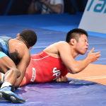 ЧМ по борьбе - финал - Окуи (Япония) / Барроуз (США)
