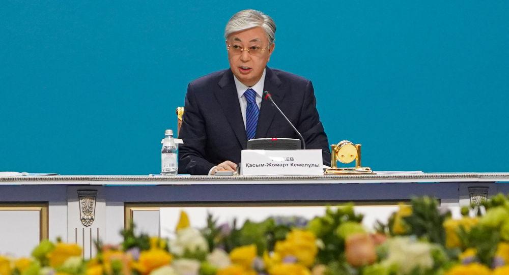 Президент Касым-Жомарт Токаев, архивное фото