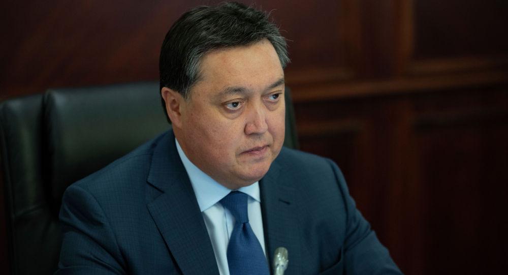 Премьер-министр Аскар Мамин