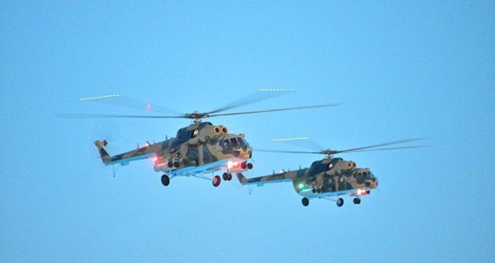 Вертолеты Ми-171Ш поступили на вооружение ВВС Казахстана