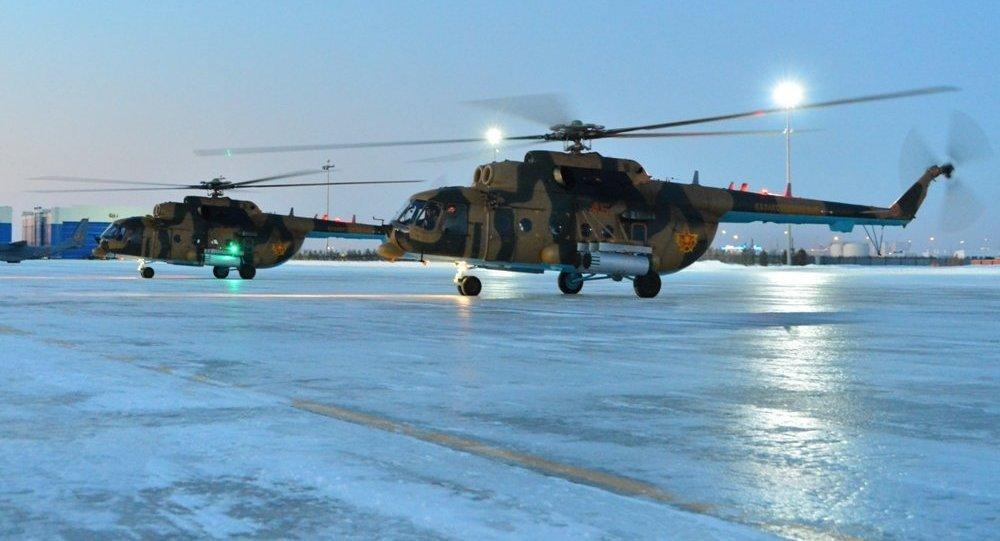 Вертолеты Ми-171Ш