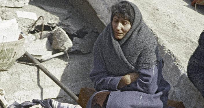 Последствия землетрясения в Спитаке