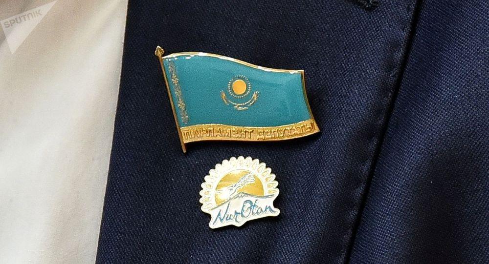 Значки депутата парламента Казахстана