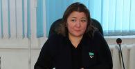 Депутат Жанат Омарбекова