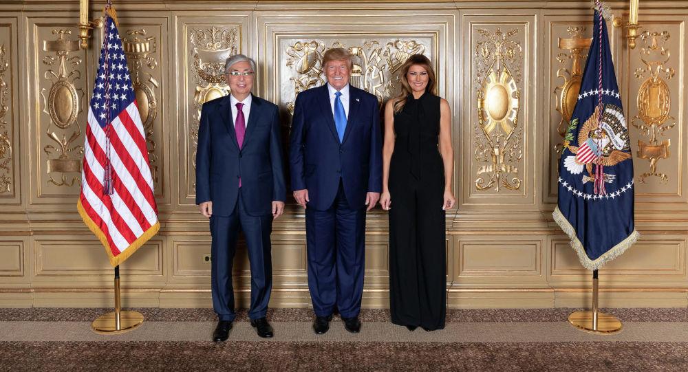 Қасым-Жомарт Тоқаевтың АҚШ президенті Дональд Трамппен кездесуі