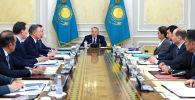 Нұрсұлтан Назарбаевтың төрағалығымен Қауіпсіздік кеңесінің отырысы өтті
