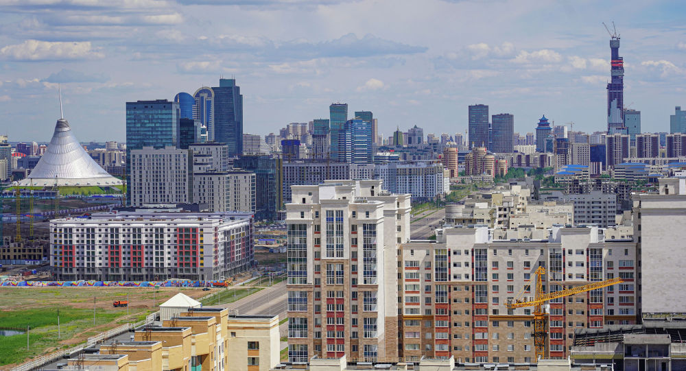 Новостройки столицы, Левый Берег, Хан-шатыр