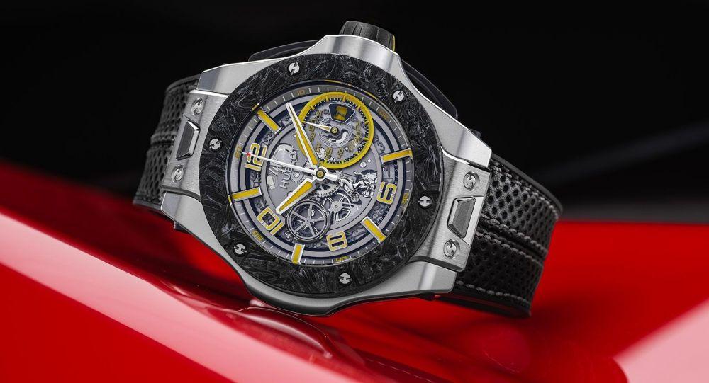 Лимитированная серия часов Big Bang Scuderia Ferrari 90th Anniversary