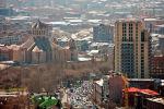 Вид на город Ереван, архивное фото