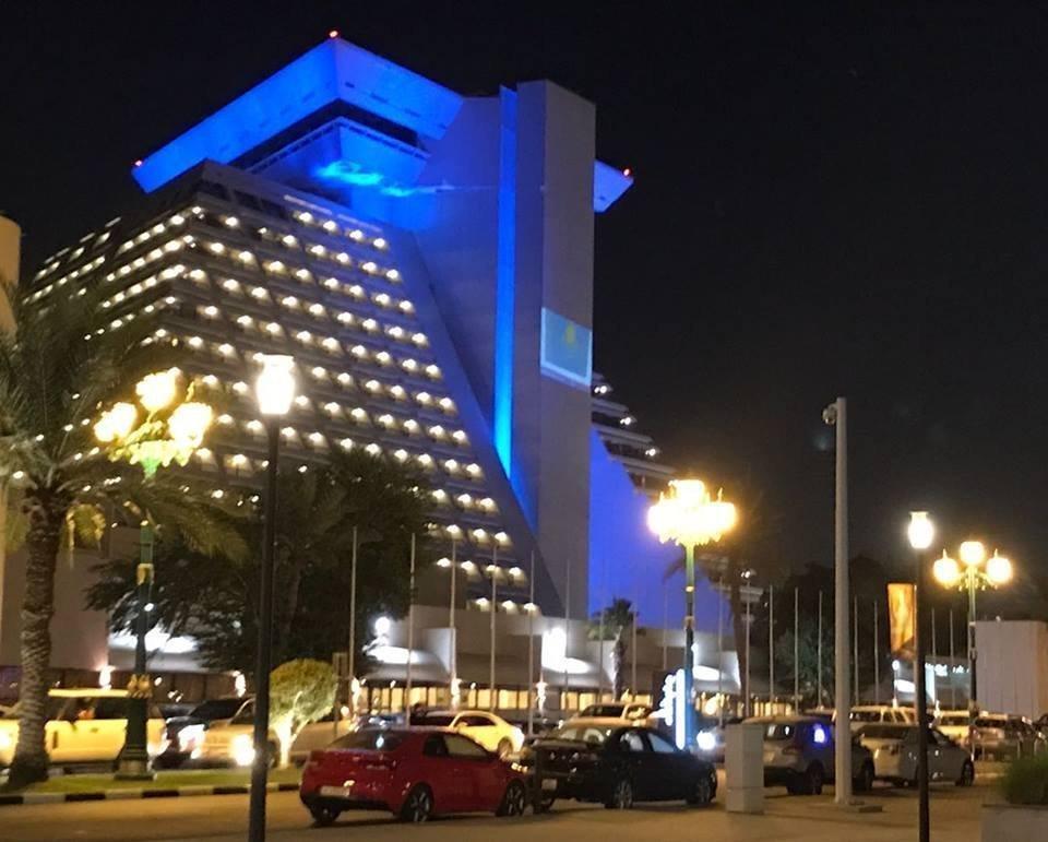 Катар қонақ үйлері Қазақстан Тәуелсіздігіне 25 жыл толуына орай безендірілді