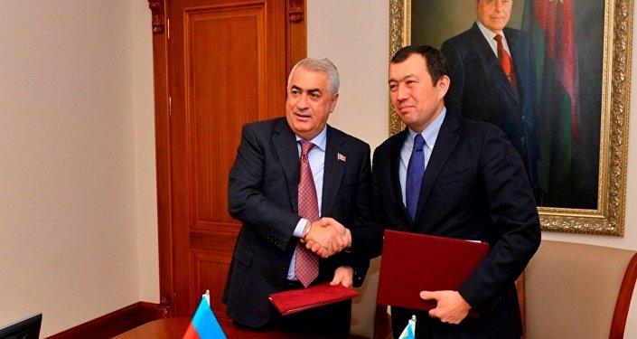 Джавид Гурбанов и Канат Алпысбаев
