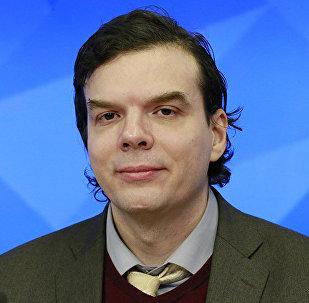 Российский политолог Андрей Казанцев