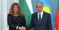 Глава государства Касым-Жомарт Токаев принял вице-президента Болгарии Илияну Йотову