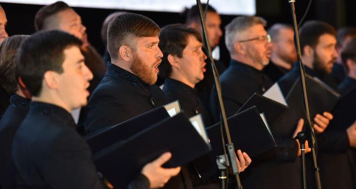 С программой Несвятые святые в Нур-Султане выступил хор Сретенского монастыря