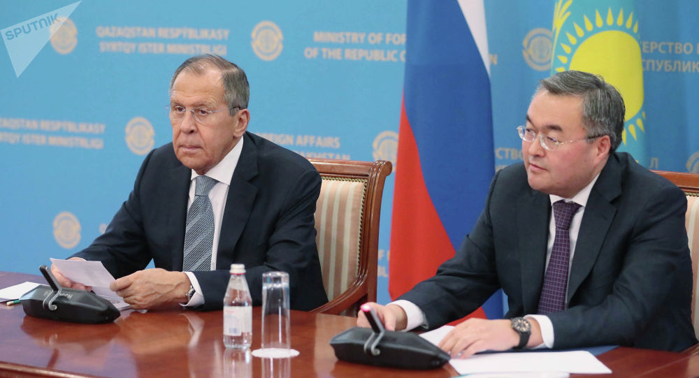 Ресей сыртқы істер министрі С.Лавровтың Қазақстанға сапары
