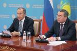 Визит министра иностранных дел РФ С. Лаврова в Казахстан