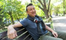 Лидер группы Мотороллер Ильяс Аутов