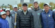 Президент Казахстана принял участие в общегородском субботнике