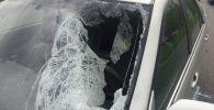 Дорожно-транспортное происшествие на проспекте Аль-Фараби в Алматы