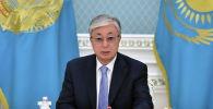 Касым-Жомарт Токаев на совещании в Акорде