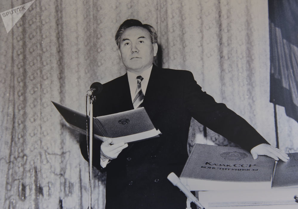 Нурсултан Назарбаев, инаугурация 10декабря 1991 года