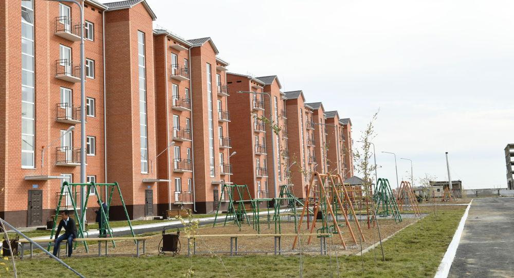 Новые жилые дома в городе Байконыре