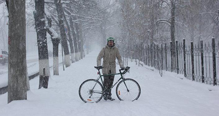 Велоэнтузиаст Александр Габченко