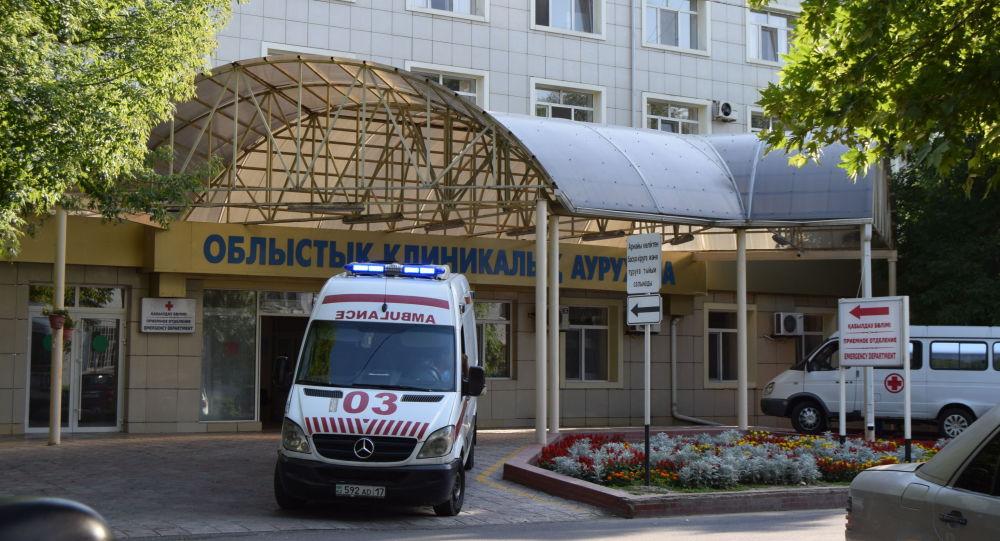 Областная клиническая больница в Шымкенте