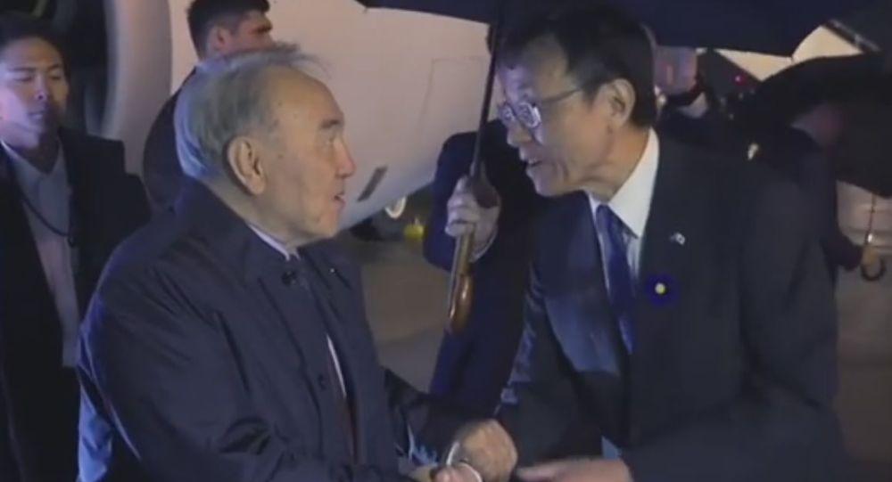 Нұрсұлтан Назарбаев император Нарухитоның таққа отыру рәсіміне қатысу үшін Жапонияға келді
