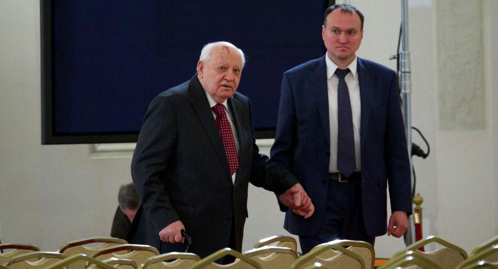 Бывший советский лидер Михаил Горбачев