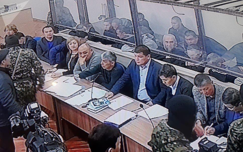 Суд над 14 казахстанцами, воевавшими в Сирии, проходит в здании колонии ЕЦ 166/10