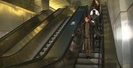 Высокая мода спустилась в метро - видео