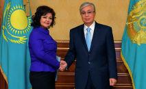 Глава государства провел встречи с членами Национального совета общественного доверия