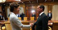 Дмитрий Медведев пен Дариға Назарбаева